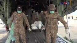 سانحۂ احمد پور: زخمیوں کی سی ون تھرٹی کے ذریعے منتقلی