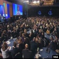 Prva dama, Mihelle Obama govori na Clintonovoj Globalnoj Inicijativi