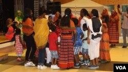 Bilen Culture dancing