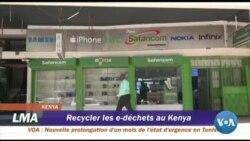 Recycler les e-déchets au Kenya