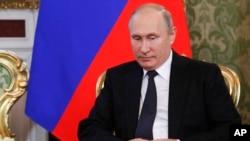 រូបឯកសារ៖ ប្រធានាធិបតីរុស្ស៊ីលោក Vladimir Putin។