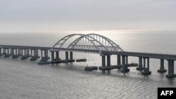Мост через Керченский пролив. Архивное фото