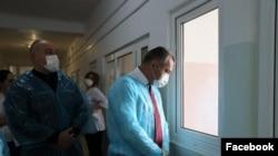 დე-ფაქტო ცხინვალის ლიდერი, ანატოლი ბიბილოვი ახალი კორონავირუსის პანდემიის პერიოდში