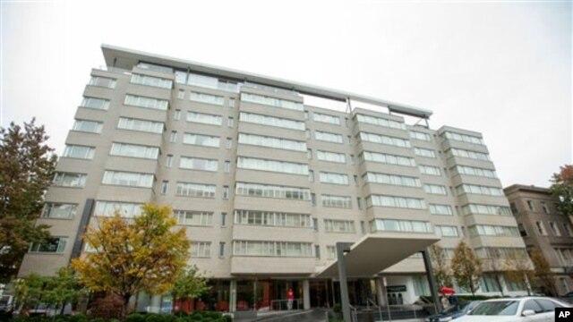 Отель в Вашингтоне, где 7 ноября 2015 года был найден мертвым Михаил Лесин