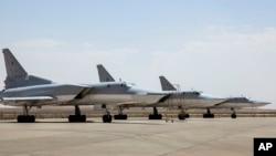 俄軍圖-22M3遠程轟炸機在伊朗的空軍基地