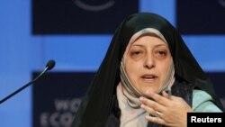 Məsumə İbtikar, İran prezidentinin qadın və ailə məsələləri üzrə müavini