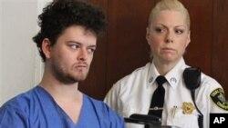 Kevin Edson, de 25 años, fue remitido a un hospital en Massachusetts para ser evaluado psiquiátricamente.