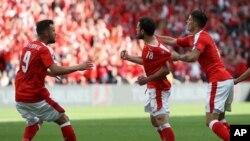تیم فوتبال سویس با تساوی در برابر کوستاریکا راهی دور حذفی شد.