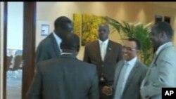 Wakilan Sudan da Sudan ta Kudu a Wurin tattaunawar