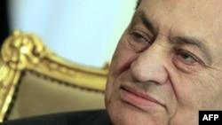 Хосни Мубарак. Фотография сделана в феврале, накануне его отставки.
