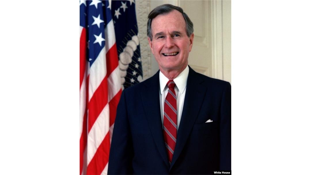 George H W  Bush: Cautious