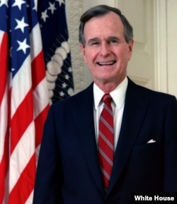 George H. W. Bush was president from 1989 to 1993