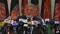 احمد یوسف نورستانی، رئیس کمیسیون مستقل انتخابات افغانستان