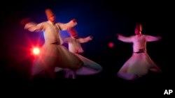 نمایش رقص تصوفی سماع