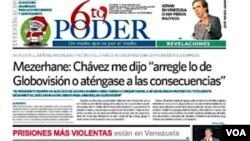 Funcionarios venezolanos incautan los bienes del grupo 6to Poder y desalojan sus instalaciones por medida judicial.