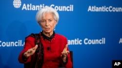 國際貨幣基金組織總裁拉加德(2015年4月9日資料照)