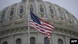 미국 워싱턴 DC의 연방의회 건물.