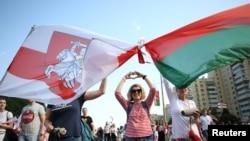بیلاروس: متنازع انتخابی نتائج کے خلاف احتجاج جاری