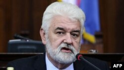 Premijer Srbije Mirko Cvetković u Skupštini Srbije