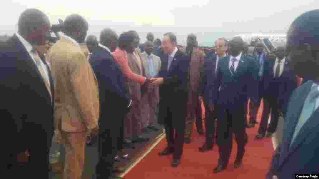Ziyarar Ban Ki-moon kasar Burundi