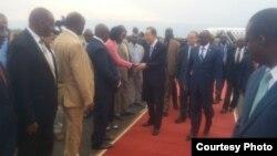 Ban Ki-moon i Bujumbura