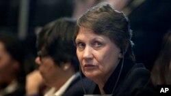 Helen Clark, administradora del Programa de Desarrollo de la ONU, subrayó que la seguridad ciudadana es un asunto sensible.