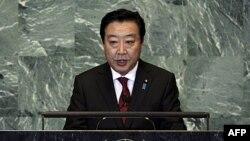 Thủ tướng Nhật Bản Yoshihiko Noda tại Ðại hội đồng Liên hiệp quốc, ngày 23 tháng 9, 2011