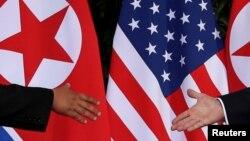 """Ông Trump đã theo đuổi điều mà ông gọi là chiến dịch """"áp lực tối đa"""" chống lại Bình Nhưỡng để buộc họ từ bỏ vũ khí hạt nhân của mình"""