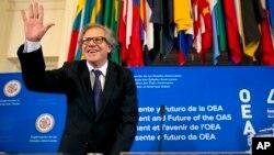 Sekretè Jeneral l'OEA a, Luis Almagro.