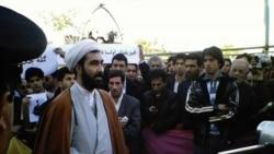 Höccətül-İslam Əzimi Tehrandan Amerikanın Səsinə danışıb