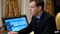 Ruski predsednik Dmitri Medvedev