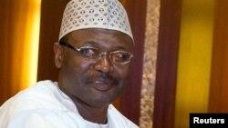 Shugaban hukumar zaben Nigeria INEC, Farfesa Mahmoud Yakubu