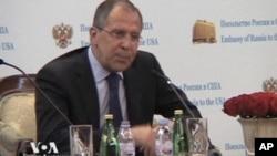 俄羅斯外長拉夫羅夫將在華盛頓會見美國領導人討論導彈防禦計劃問題。