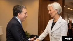 Dujovne y Lagarde sostuvieron reunión el pasado 10 de mayo