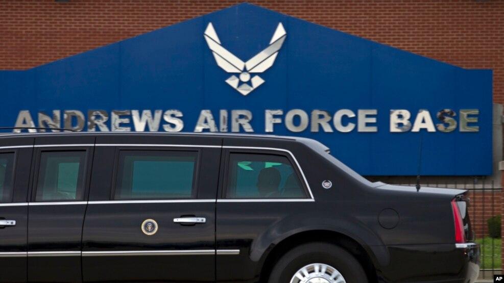 Vụ nổ súng dẫn tới việc Căn cứ Hỗn hợp Andrews ở bang Maryland bị phong tỏa là một 'sự hiểu lầm'.