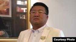 自称习近平高参的上海唐先生(受访者提供)