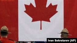 加拿大国旗。