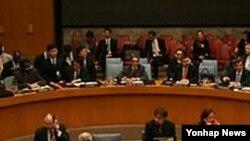 유엔안보리 회의장면