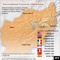 Broj koalicionih vojnika u Avganistanu po zemljama