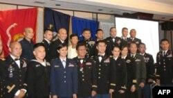 Quân nhân Mỹ gốc Việt tại dạ tiệc gây quỹ học bổng vinh danh các tử sĩ