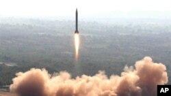 Старт баллистической ракеты Ghauri (архивное фото)