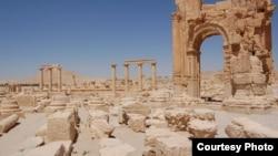 Gine-ginen da suka fi shekaru dubu uku a Palmyra dake Syria, birni mai dimbin tarihi da yanzu ya fada hannun kungiyar ISIS