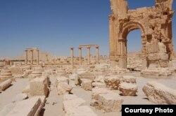 Palmira destruida