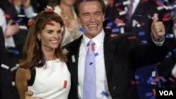 Schwarzenegger y su esposa, Maria Shriver, se separaron después que el actor le reveló su relación extramarital.