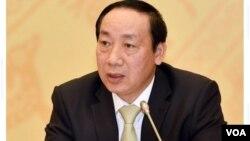 Nguyên thứ trưởng Nguyễn Hồng Trường. (Hình: Trích xuất từ VnExpress.net)
