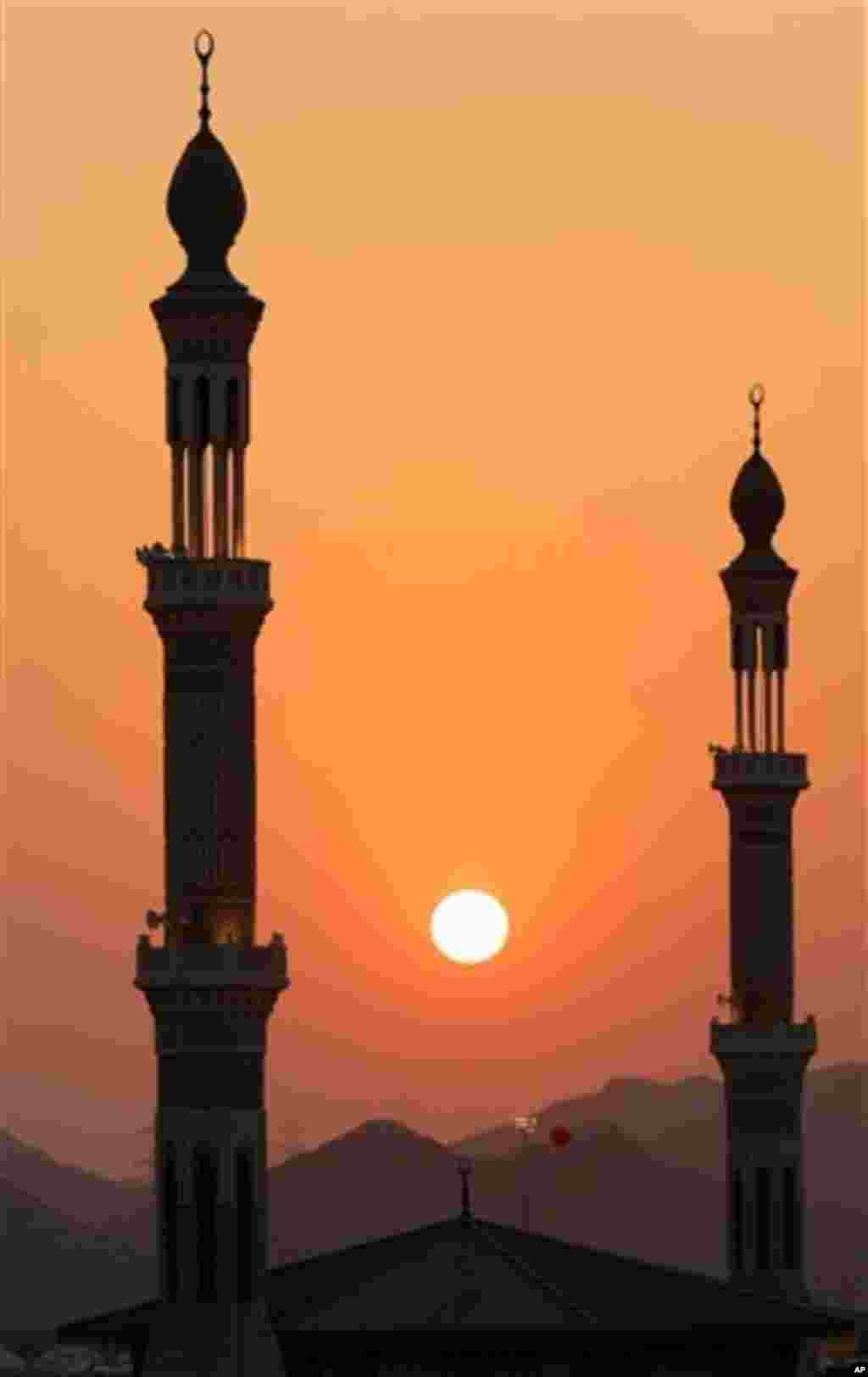 Les minarets de la Mosquée Namira