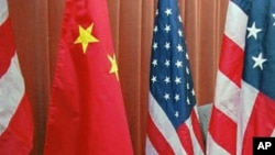 US, Chinese flags (File)