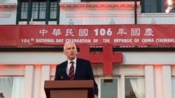 莫健吁台湾拿出急迫感应对中国威胁