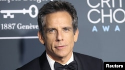 FILE - Ben Stiller at the 24th Critics Choice Awards, Santa Monica, California, Jan. 13, 2019.