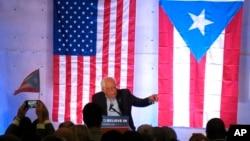 Sanders también se pronunció en contra de la propuesta de los republicanos en la Cámara de Representantes que busca crear una comisión que supervise el presupuesto y el gasto del territorio.